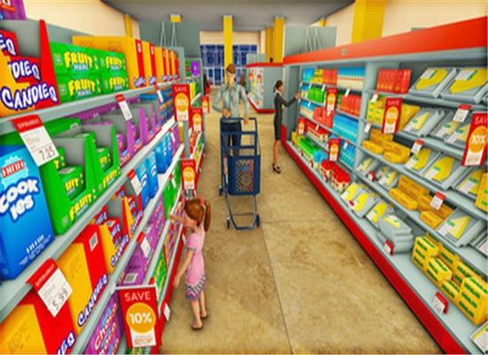 超市收银模拟器