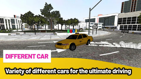 疯狂出租车都市漂移游戏