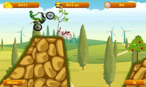 摩托跑酷手机版